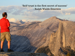 When we trust ourselves, we remove doubt and open the door to greater achievement.