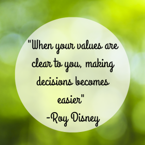 Being aware of your values provides opportunities build on those strengths to accelerate you leadership skills and reach your personal and professional goals.