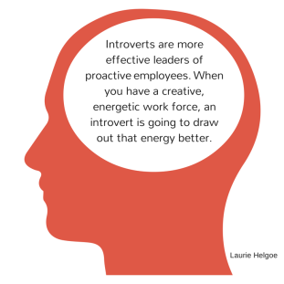 Introverts are more effective leaders of
