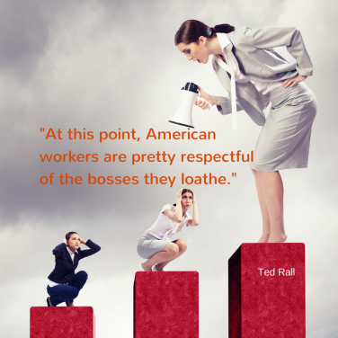 At this point, American workers are (3)